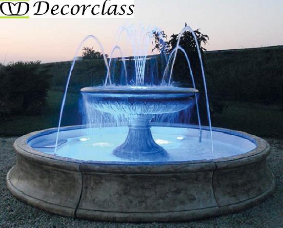 Fontane da giardino fontane in cemento fontane in cemento for Vasche per tartarughe d acqua da esterno